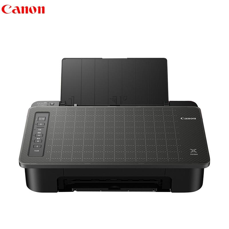 佳能 TS308 彩色喷墨打印机 A4幅面 无线家用